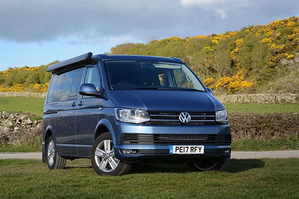 VW California Fitted Bike Rack